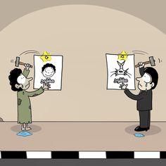 كاريكاتير - خالد الجابري (الإمارات)  يوم الأحد 4 يناير 2015  ComicArabia.com  #كاريكاتير