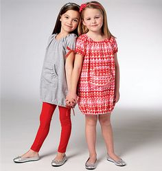 Girls' Dresses & Leggings  i can  just see precious little Qady in this!