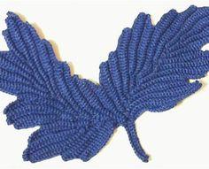 Fantasy Leaf - Irish Crochet