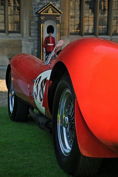 1957 Ferrari 250 Testa Rossa TR58 Scaglietti -  2012 Windsor Concours of Elegance Luxury Sports Cars, Classic Sports Cars, Vintage Racing, Vintage Cars, Antique Cars, Porsche 356, Classy Cars, Hot Cars, Exotic Cars