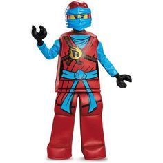 Lego Ninjago Nya Child Prestige Halloween Costume, Girl's, Size: Child Girls (7-8), Multicolor