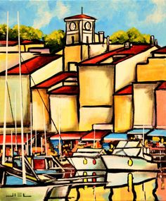 COLORS AND REFLECTIONS OF CASSIS (Jiel)