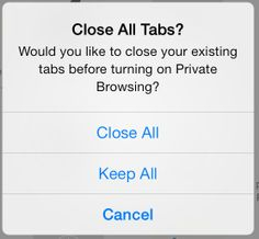PadGadget's iPad Tips: How to Close All Tabs at Once in Safari on the iPad. Repinned by SOS Inc. Resources @SOS Inc. Resources.