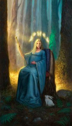 The Empress - Triple Goddess Tarot