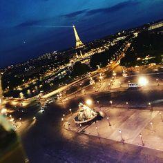 We'll always have #Paris #granderouedeparis #granderoue #toureiffel #champselysees