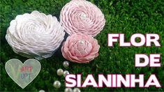 DIY - Flores de Sianinhas - Passo a passo - Vapt Vupt