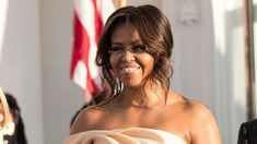 Michelle Obama Stuns in Gorgeous