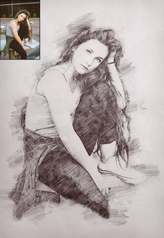 Personal Sketch Portrait, Painting from Photo, Personalized Photo, Digital Portrait, Sketch Print / 1st Anniversary Gifts, Digital Portrait, Personal Photo, Landscape Photos, Personalized Gifts, Poster Prints, Drawings, Artist, Sketch
