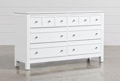 Bayside White Dresser