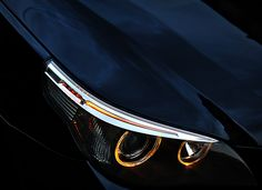 eyes of a bmw 5 Series. Luxury cars from BMW Motor. A BMW with a sporty design is everyone's dream. E60 Bmw, Bmw 650i, Bmw Love, Premium Cars, Bmw Series, Bmw Motorcycles, Honda Cb, Top Cars, Audi Tt