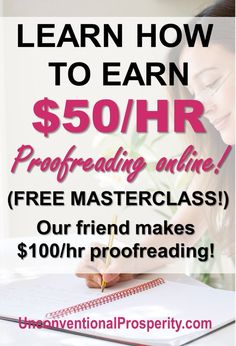 Caitlin Pyle has taught many, many people to become freelance proofreaders and quit their jobs to pursue a freelance proofreading side hustle full time! make money online 2019 Earn More Money, Ways To Earn Money, Earn Money From Home, Make Money Fast, Earn Money Online, Online Jobs, Money Tips, Money Hacks, Online Games