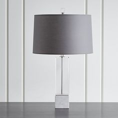 Campbell Crystal Table Lamp | Crate and Barrel