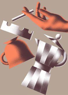 Tomasz Woźniakowski on Behance Flat Illustration, Graphic Design Illustration, Digital Illustration, Graphic Art, Plakat Design, Realistic Drawings, Illustrations And Posters, Graphic Design Inspiration, Painting & Drawing