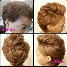 Most beautiful blow out on natural hair .and yes Shrinkage is real.