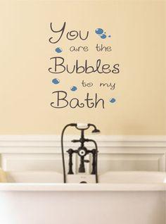 Bathroom Wall Decal Rub A Dub Dub With Ducks Bathroom Wall - Cute sayings for bathroom walls