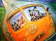 Here is one called Cat Bus