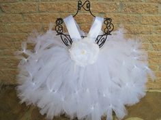 PETTI blanc robe Tutu. Robe d'anniversaire. Robe de par ElsaSieron