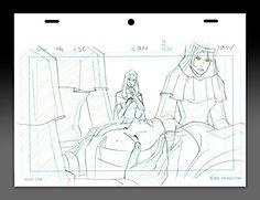 "nice ""Wolverine & The X-Men"" Original Animation Art - Jean Grey and Storm"