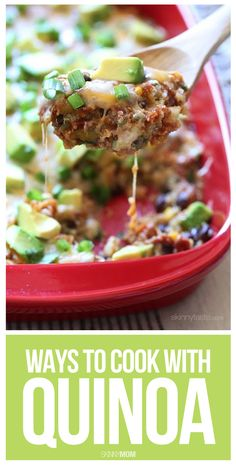 10 AMAZING quinoa recipes for breakfast, lunch, and dinner!