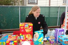 Supplies for Hurricane Sandy Victims. Salvation Army