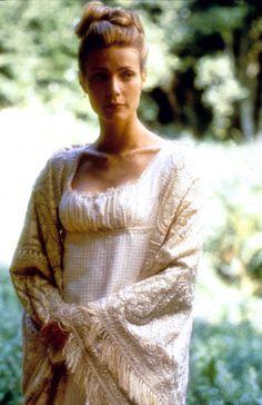 Gwyneth Paltrow as Emma Woodhouse in Emma (1996).                              …