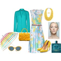 Untitled #515 by rosa-farinha on Polyvore featuring moda, Rupert Sanderson, Oliver Peoples and Kate Spade