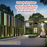 La Salle Avenue Condo Residences Entrance Gate - Bacolod House for Sale Bacolod, Entrance Gates, Condominium, Studio, Multi Story Building, Modern, House, Room, Trendy Tree
