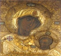 Orthodox Catholic, Orthodox Christianity, Greek History, Blessed Virgin Mary, Orthodox Icons, Mother Mary, Religious Art, Byzantine, Religion