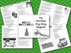 2nd Grade Pad: My Christmas Sing Along Songbook