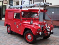 Fire Engine Appliances - Scottish Fire and Rescue THS 825 Austin Gipsy Heritage Trust Appliance – Museum & Heritage Centre Greenock