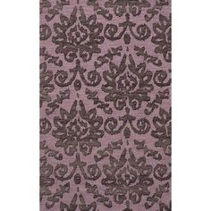 Dalyn Rug Co. Bella Purple Area Rug Rug Size: 5' x 8'