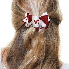 Virginia Tech Hokies Women's Mary Loop Hair Bow - $6.99