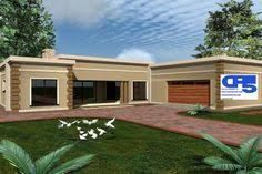 Image Result For Single Storey Flat Roof House Plans In South Africa Flat Roof House Beautiful House Plans House Plans