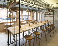 Opso, new Greek restaurant in Marylebone, London.