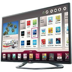 $1,400 w/free shipping The LG LA6200 Class 1080p Cinema 3D Smart TV has everything you want. Smart TV with LG's fun and intuitive Magic Remote with Voice, Built-in Wi-Fi, a Dual Core Processor and Cinema 3D. All this features with stunning picture quality with LED technology, Full HD 1080p and TruMotion 120Hz. Now, it's so easy to access your favorite movies, videos, apps and games.