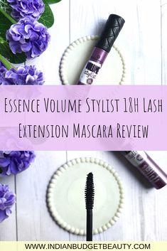 Essence Volume Stylist 18H Lash Extension Mascara Review Best Drugstore Mascara, Best Mascara, Lash Extension Mascara, Lash Extensions, Lash Perfect, Mascara Review, Indian Makeup, Lower Lashes, Volume Mascara