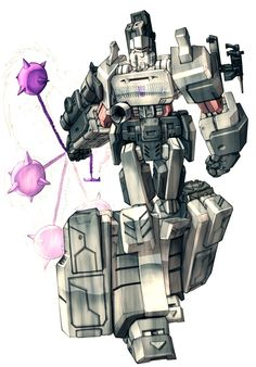 Megatron in colour by ~Blitz-Wing