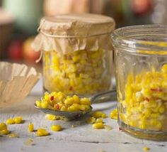 This simple condiment is great with hot dogs, burgers and salad