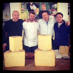 """@Jamie Wise Oliver's photo: """"Just tried the most incredible Westcombe cheddar with white truffles thanks to @Tom John Calver also the most expensive in the world but my god it was good! See the video on #foodtube soon love Jamie xx"""""""