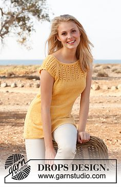 Ravelry: 147-6 Sunny pattern by DROPS design