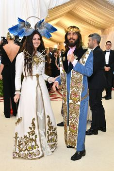 Jared Leto Goes Full Jesus at the Met Gala With Lana Del Rey - Cosmopolitan.com