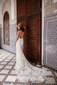 New Rue De Seine Wedding Dresses + Trunk Shows |a&bé bridal shop Bohemian Wedding Inspiration, Bohemian Wedding Dresses, Boho Bride, Bridal Dresses, Wedding Gowns, Lace Wedding, Wedding Blog, Bohemian Weddings, Rustic Wedding