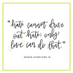 """""""Hate cannot drive out hate; Only love can do that."""" -Martin Luther King Jr. This quote is still so important, always. • • • #mlk #mlkjr #mlkday #handlettering #lettering #brushlettering #calligraphy #moderncalligraphy #calligritype #quote #ipadlettering #ipadpro #procreateapp #graphicdesign #typematters #thedailytype #handmadetype #typeyeah"""