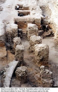 The British Museum's fourteenth season excavating at Sidon, Lebanon, continues to reveal astounding artifacts at the Biblical city. Sidon has been inhabited for six millennia, Ancient Near East, Ancient Art, Ancient History, Jewish History, European History, Ancient Discoveries, Ancient Buildings, Archaeological Finds, Canaan Land
