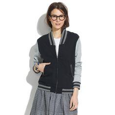 Madewell - Varsity Zip-Front Jacket