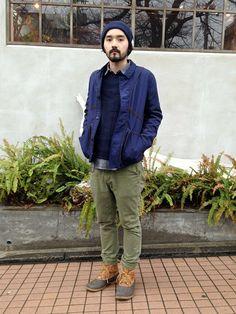 vendor nakameguro | TSUYOSHIさんのブルゾン「Folk Folk - NICO JACKET」を使ったコーディネート