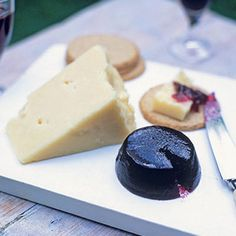Damson And Blackberry Cheese