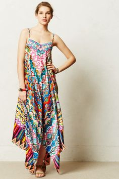 Anthropologie Tropical Mosaic Dress on shopstyle.com