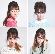 It's Official: Cool Girls Wear Glasses - Vogue Daily - Fashion and Beauty News and Features