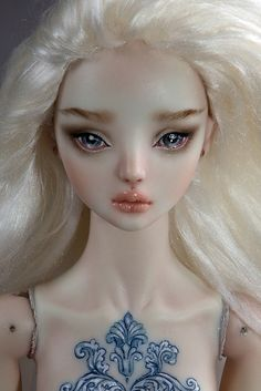 "༻❁༺ ❤️ ༻❁༺ ""DAPHNE IN DISGUISE"" | Doll•icious Beauty | ENCHANTED DOLLS // By Marina Bychkova ༻❁༺ ❤️ ༻❁༺"